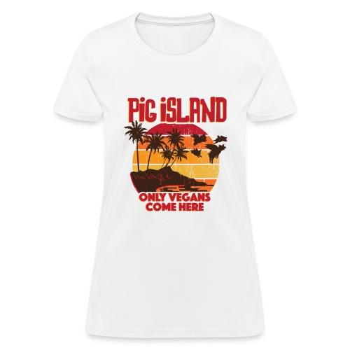 Pig Island Slim Fit T-shirt - Women's T-Shirt