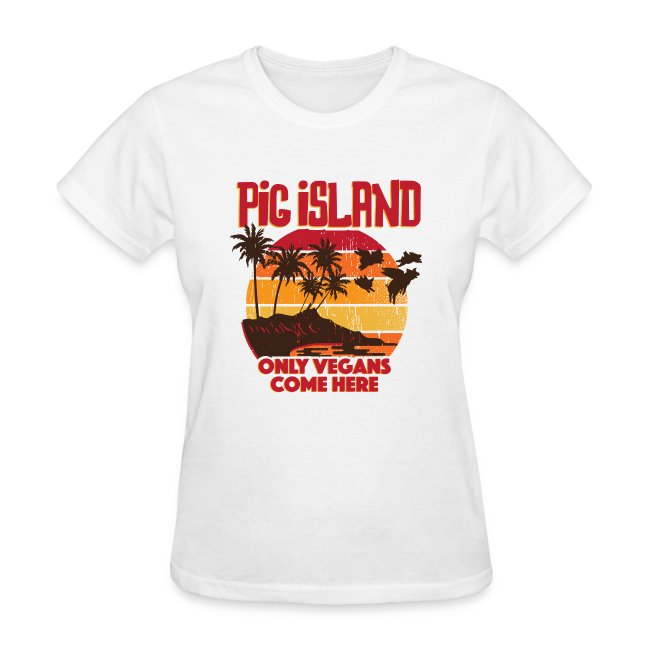 Pig Island Slim Fit T-shirt