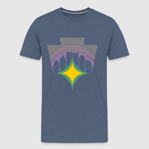 KEY TO THE SKY -HEX - Men's Premium T-Shirt