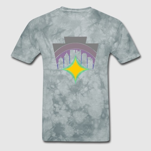KEY TO THE SKY -HEX - Men's T-Shirt