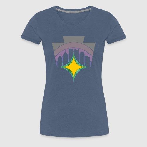 KEY TO THE SKY -HEX - Women's Premium T-Shirt