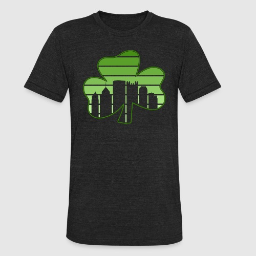 SHAMROCK - SKY - Unisex Tri-Blend T-Shirt