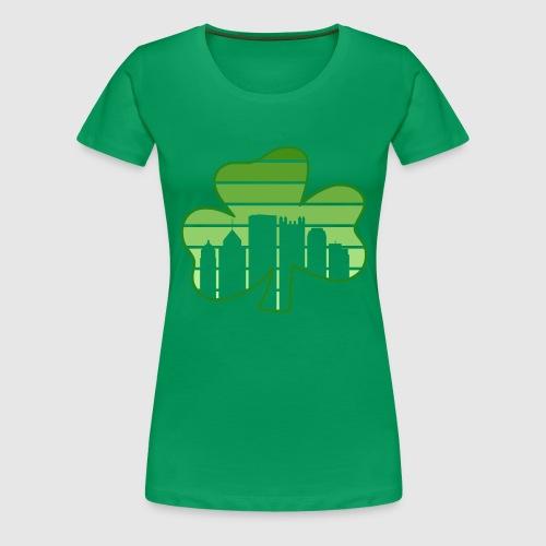 SHAMROCK - SKY - Women's Premium T-Shirt