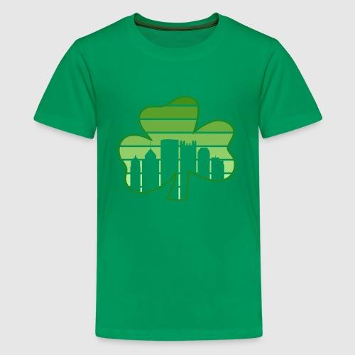 SHAMROCK - SKY - Kids' Premium T-Shirt