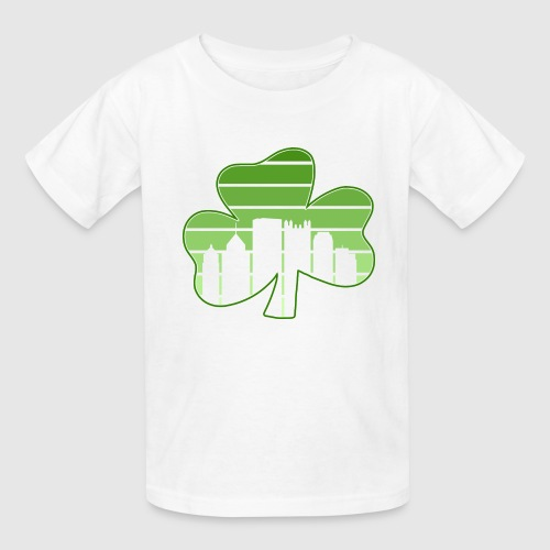SHAMROCK - SKY - Kids' T-Shirt