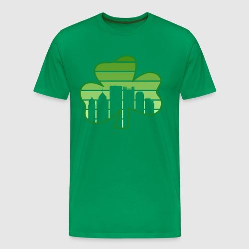SHAMROCK - SKY - Men's Premium T-Shirt