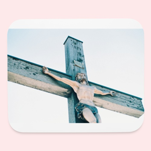 Christ on the Cross Mouse mat - Mouse pad Horizontal