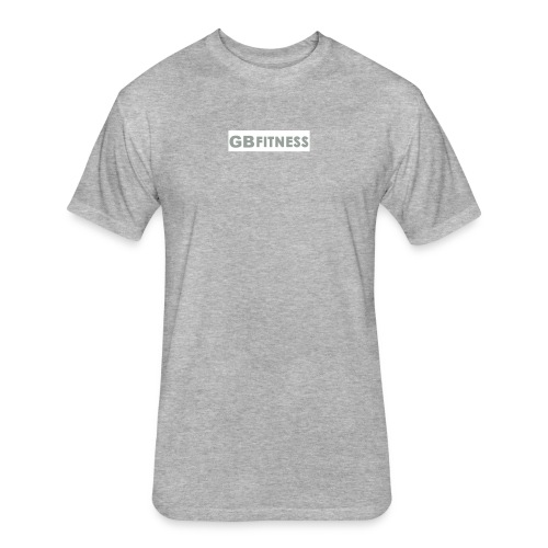 GB-Block-Gray - Fitted Cotton/Poly T-Shirt by Next Level