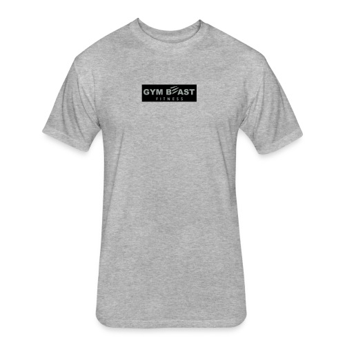 GB-Full Block black - Fitted Cotton/Poly T-Shirt by Next Level