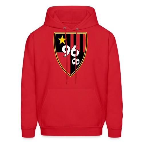 96 – Red Men's Hoodie - Men's Hoodie