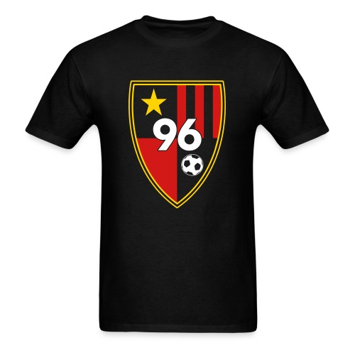 96 - Men's Black T-Shirt - Men's T-Shirt