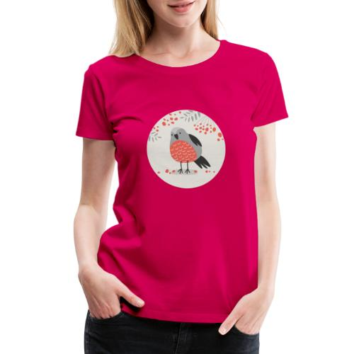 Christmas Bird - Women's Premium T-Shirt