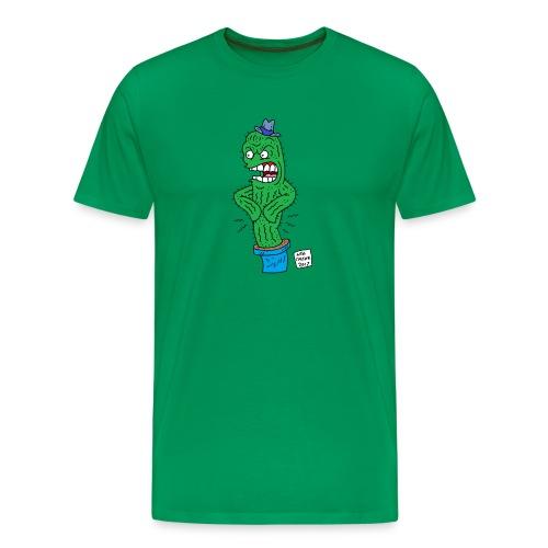 cactus this no text - Men's Premium T-Shirt