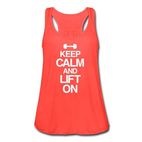 Keep calm | Women's Flowy Tank - Women's Flowy Tank Top by Bella
