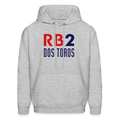 RB2: DOS TOROS - Men's Heather Gray Hoodie - Men's Hoodie