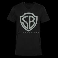 T-Shirts ~ Men's V-Neck T-Shirt by Canvas ~ Slutty Boyz V-neck Tee
