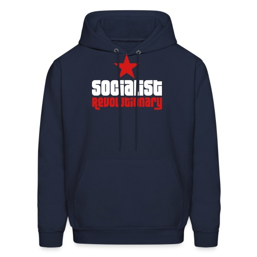 Socialist Revolutionary Hoodie (click for more colors) - Men's Hoodie