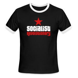 Socialist Revolutionary Ringer Tee - Men's Ringer T-Shirt