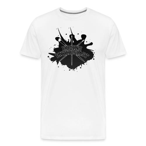 Edging Enthusiast - Black Splat (4 Him) - Men's Premium T-Shirt