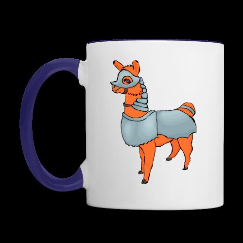 Llarmour two-toned mug - Contrast Coffee Mug