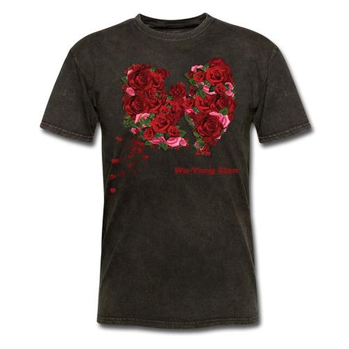 WU-Tang Rose - Men's T-Shirt