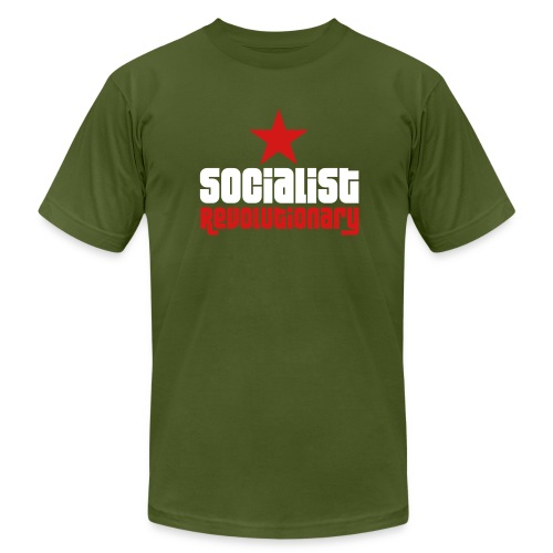 Socialist Revolutionary Jersey Tee (click for more colors) - Men's Fine Jersey T-Shirt