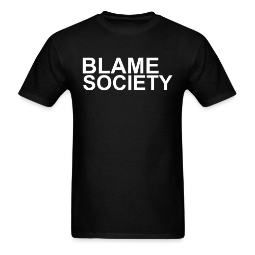 BLAME SOCIETY worn by famous rappers. - Men's T-Shirt