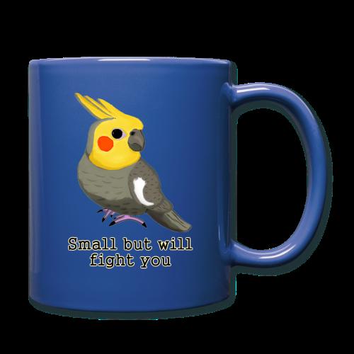 Small But Will Fight You coffee mug - Full Color Mug