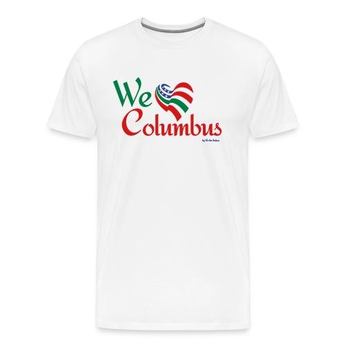 We love Columbus - Men's Premium T-Shirt