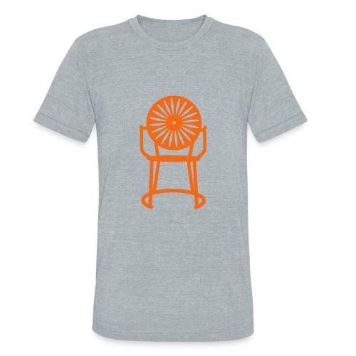 Solo Chair Tee Orange - Unisex Tri-Blend T-Shirt