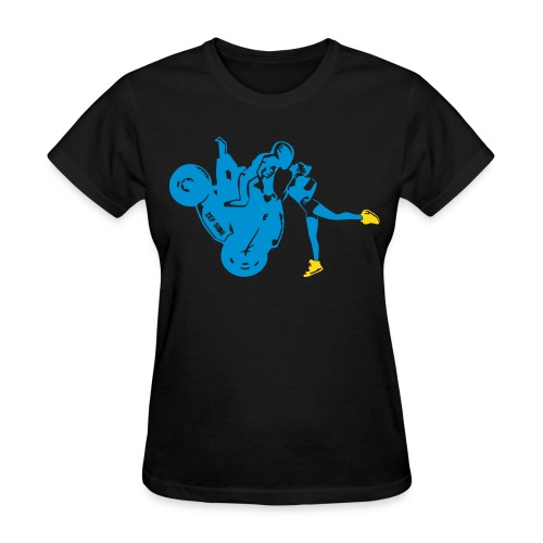 Yo-landi bad boy kiss 4 - Women's T-Shirt