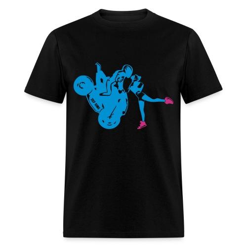 Yo-landi bad boy kiss 6 - Men's T-Shirt