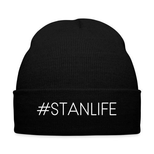 #STANLIFE beanie hat - Knit Cap with Cuff Print