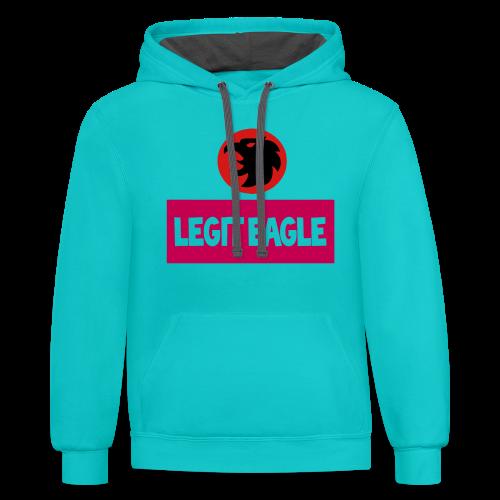 Legit eagle hoodie - Contrast Hoodie
