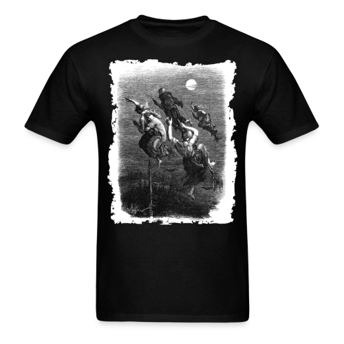 WITCHES' RIDE - OCCULT & WITCHY STYLE - Men's T-Shirt