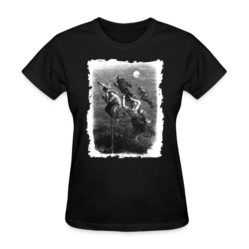 WITCHES' RIDE - OCCULT & WITCHY STYLE - Women's T-Shirt