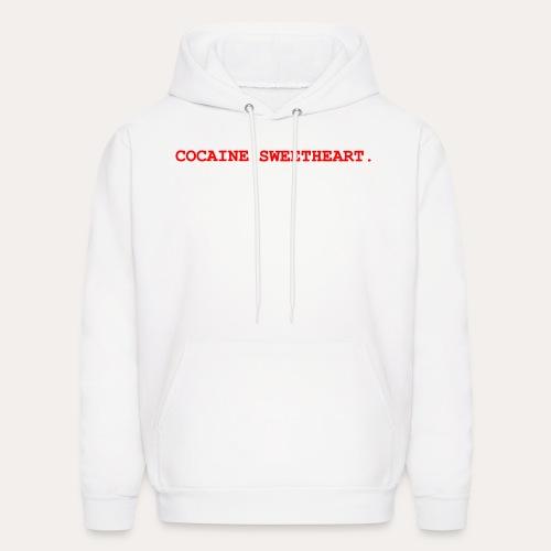 Cocaine Sweetheart. hoodie - Men's Hoodie