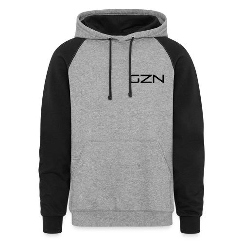 GZN Logo Hoodie - Colorblock Hoodie