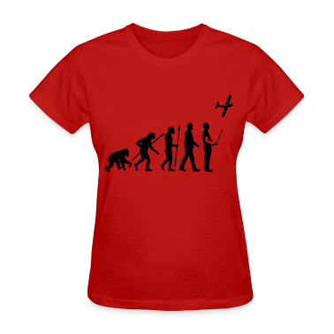 evolution_modellflieger_b_1c Women's T-Shirts