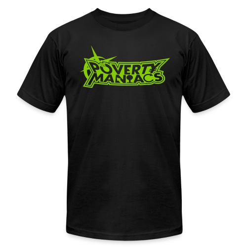 Poverty Maniacs - Y2K EDITION - Men's  Jersey T-Shirt