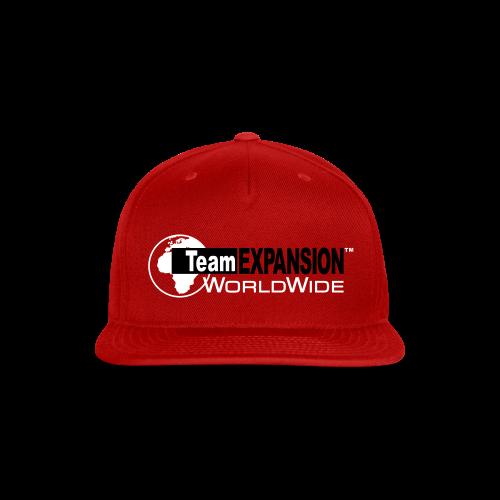 TEX Snap-Back Hat (Red) - Snap-back Baseball Cap