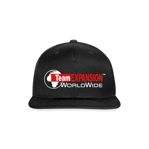 TEX Snap-Back Hat (Black) - Snap-back Baseball Cap