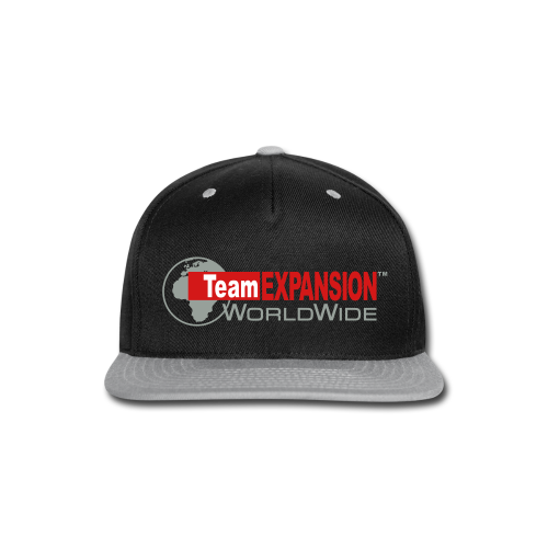 TEX Snap-Back Hat (Black/Gray) - Snap-back Baseball Cap