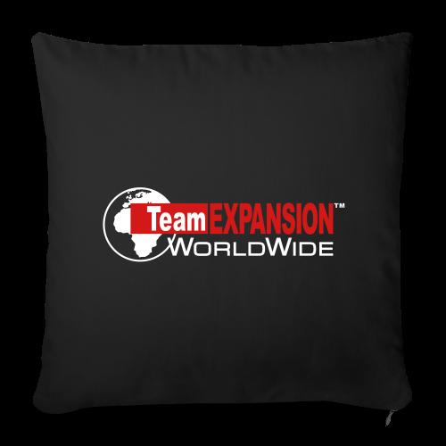 "TEX Throw Pillow Cover - Throw Pillow Cover 18"" x 18"""