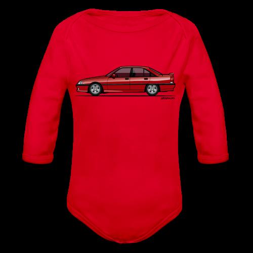 Blitz Omega A, Carlton 3000 GSi 24V Red - Organic Long Sleeve Baby Bodysuit