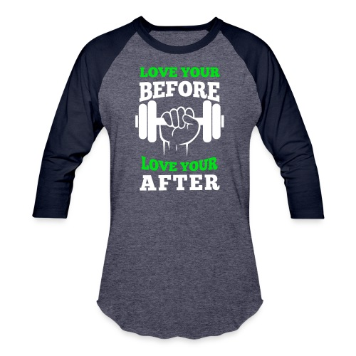Love Your Workout Baseball Tee - Baseball T-Shirt