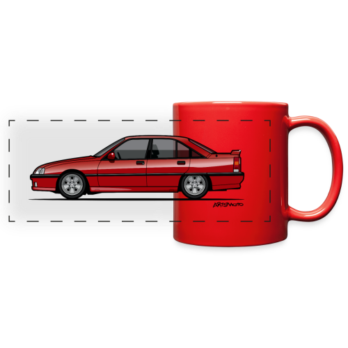 Blitz Omega A, Carlton 3000 GSi 24V Red - Full Color Panoramic Mug