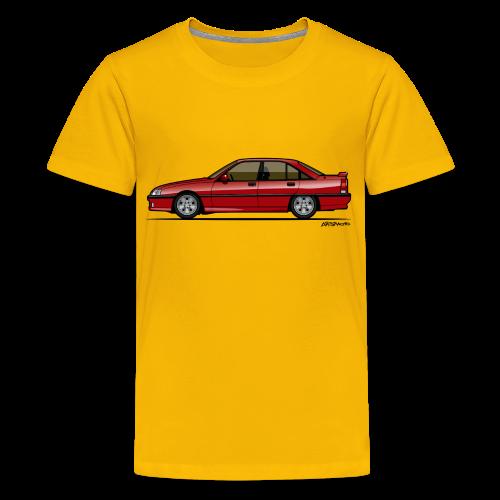 Blitz Omega A, Carlton 3000 GSi 24V Red - Kids' Premium T-Shirt