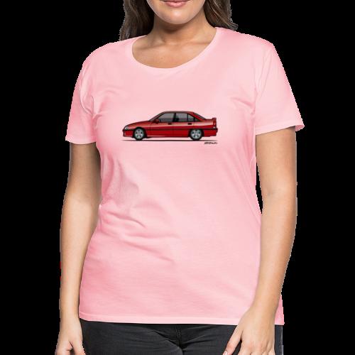 Blitz Omega A, Carlton 3000 GSi 24V Red - Women's Premium T-Shirt