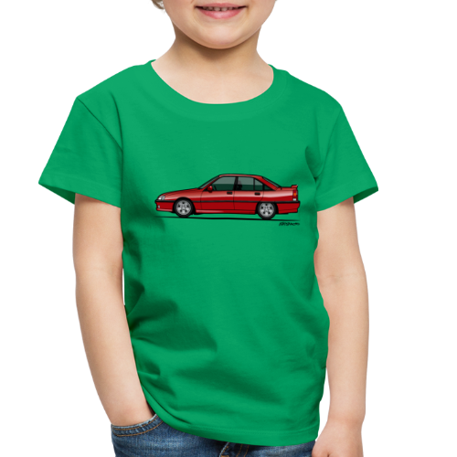 Blitz Omega A, Carlton 3000 GSi 24V Red - Toddler Premium T-Shirt